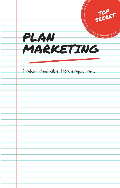 Plan marketing de la formation en ligne.