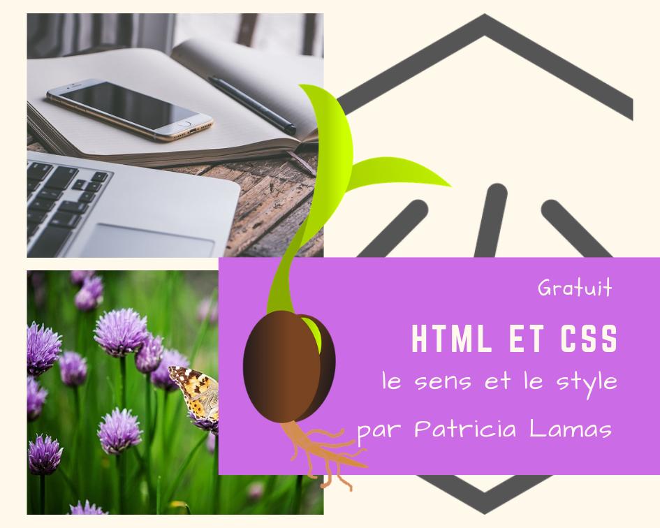 HTML et CSS, le sens et le style