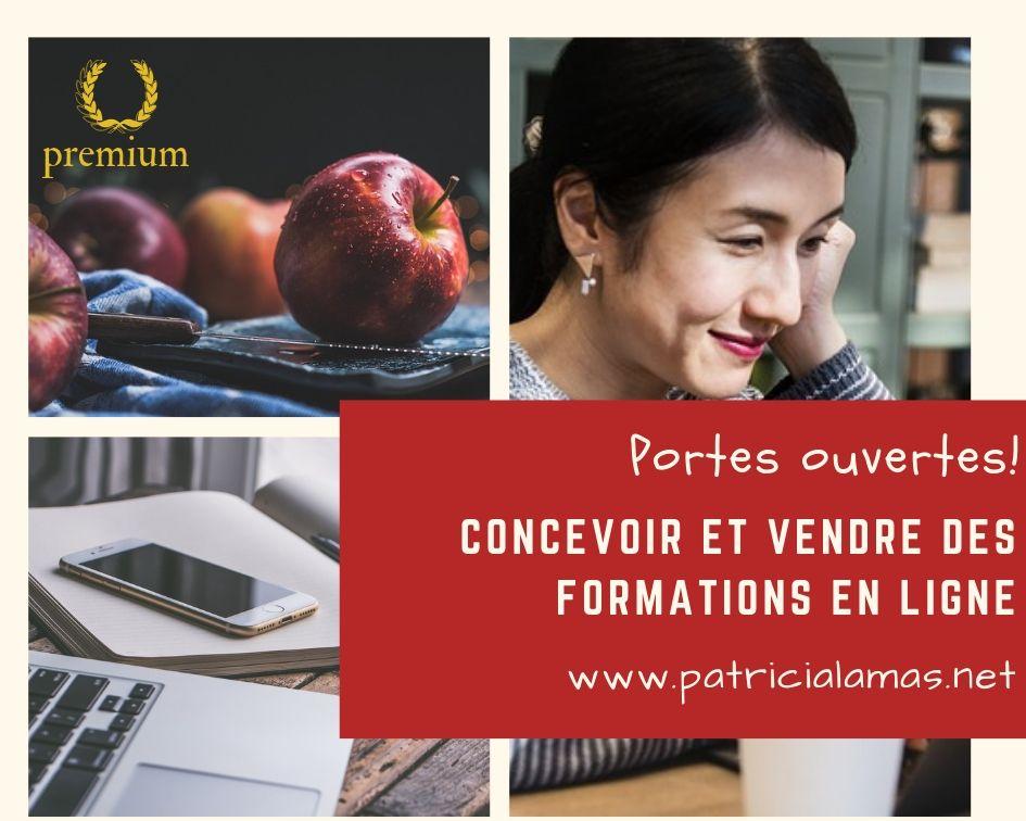 Portes ouvertes à Concevoir et vendre des formations en ligne.